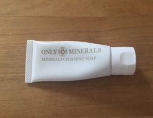 オンリーミネラルミネラルフォーミングソープ洗顔料