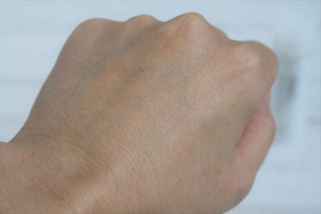 ファンケル美白化粧水の肌なじみ