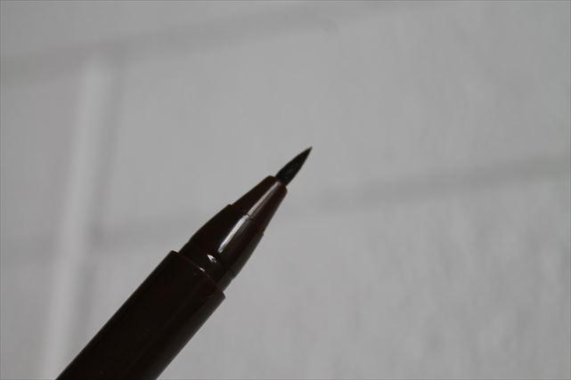 ダイソーのアイライナーのペン先